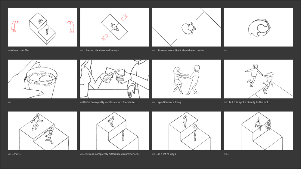 New York Times - Modern Love Storyboard 02