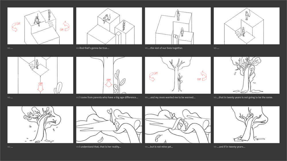 New York Times - Modern Love Storyboard 03