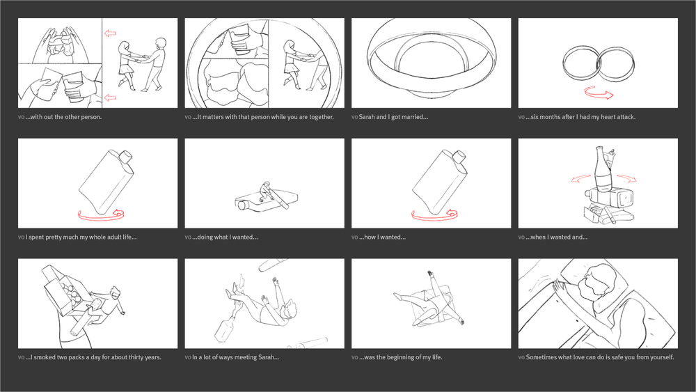 New York Times - Modern Love Storyboard 06