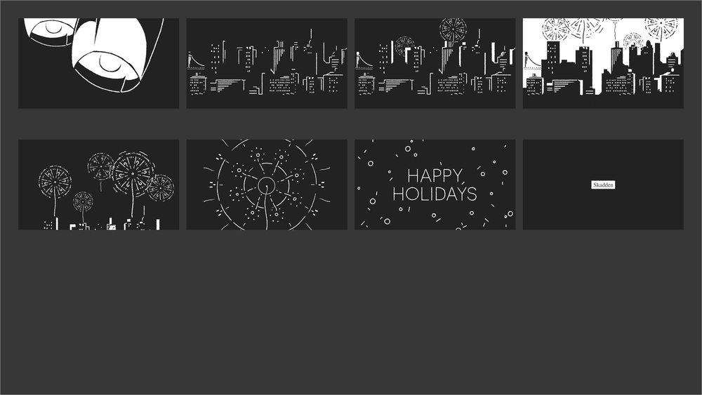 Skadden - Holiday 2014 Storyboard 02