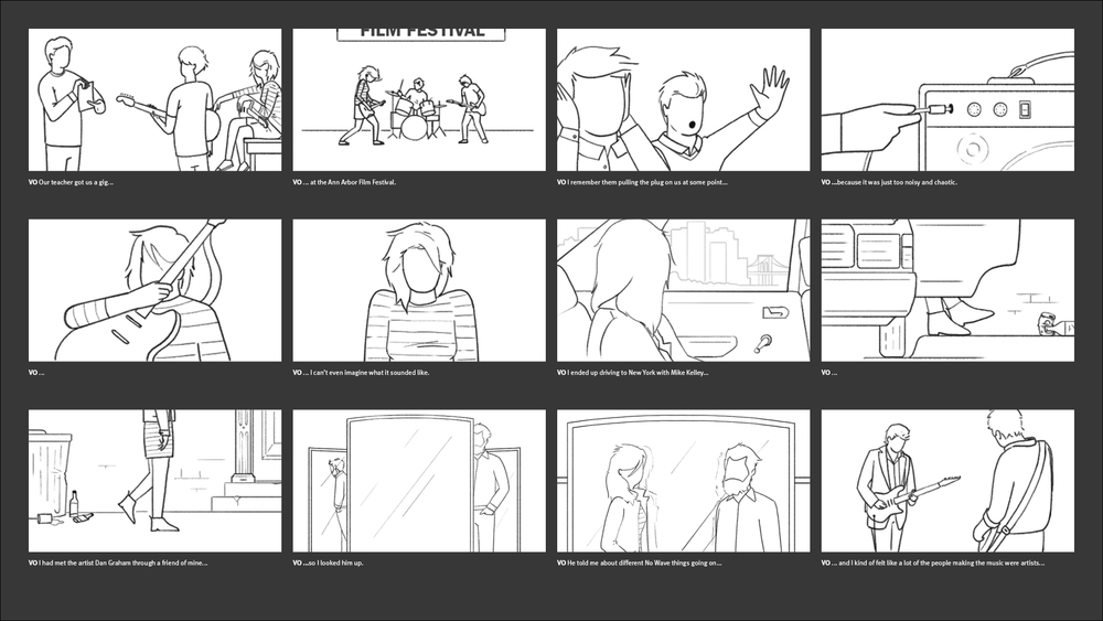 California Sunday Magazine - Kim Gordon Storyboard 03