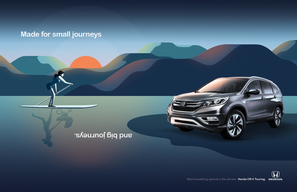 Honda CR-V - Zena 2014 Illustration 01