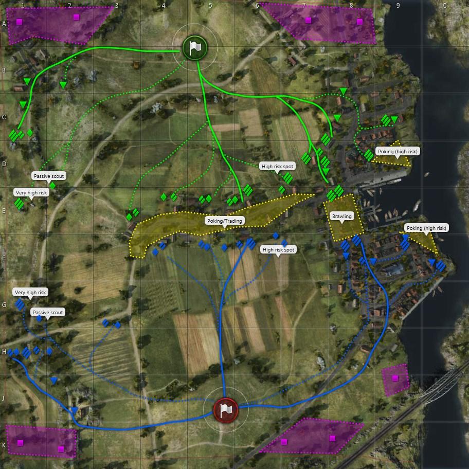 Fisherman's Bay map