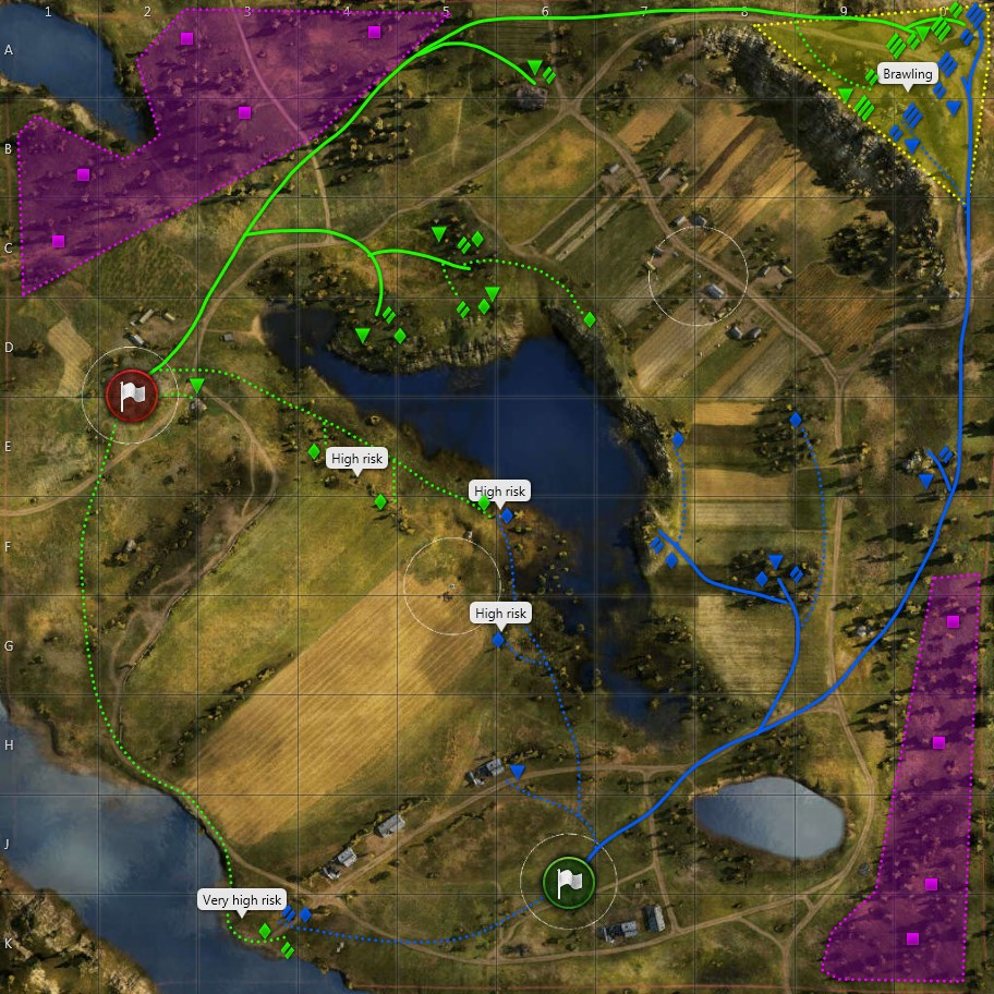 Malinovka map