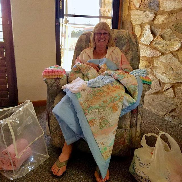 A good friend of Jacob's Hope, Jo Pesterfield, donated a very comfortable rocking chair and lots of handmade quilts and receiving blankets for the babies. Plans are coming together and we are hopeful for a summer of 2018 opening. Prayers, a helping hand, and any donations are most appreciated. Jacob's Hope; for the babies.