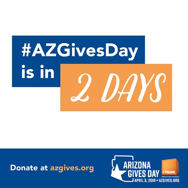 Invest in AZ! We are excited to announce that Jacob's Hope is joining this year's Arizona Gives Day, a statewide, 24-hour online giving campaign. Please consider giving on April 3, or scheduling your gift in advance at https://www.azgives.org/jacobshopeaz. #AZGivesDay