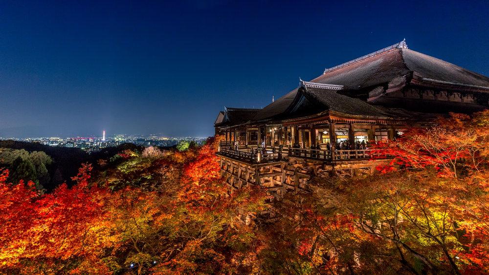 Kiyomizu-Dera.