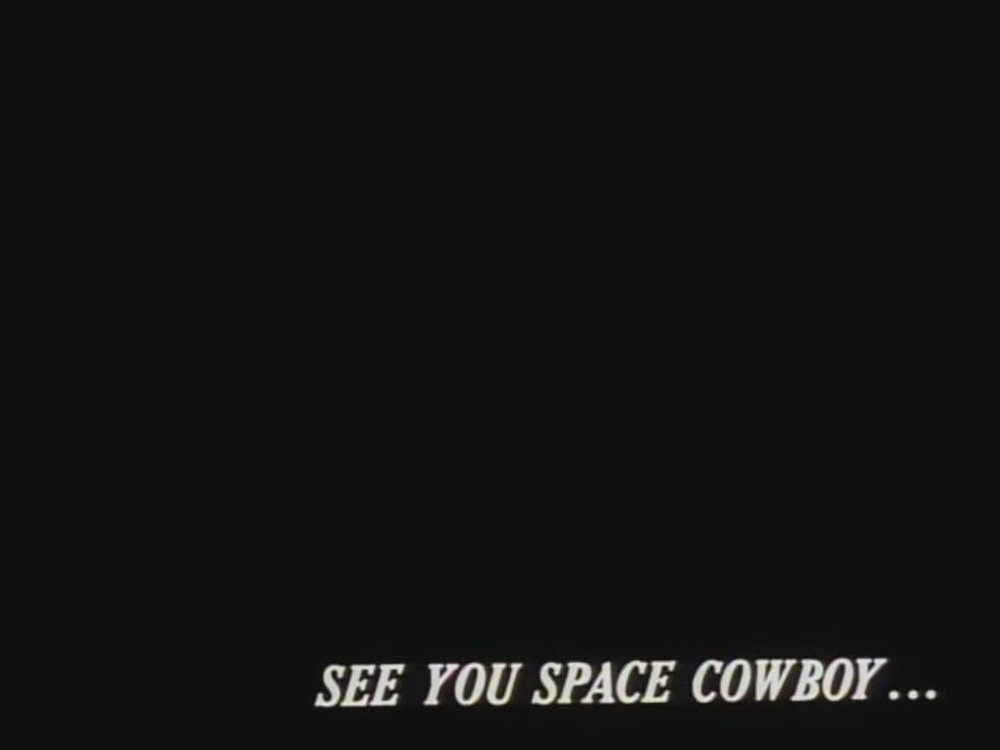 Cowboy Bebop - See You Later, Space Cowboy