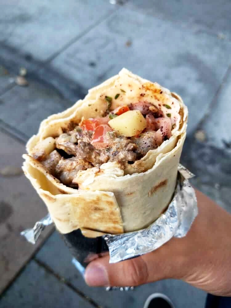 Zaytoon - Beef Wrap