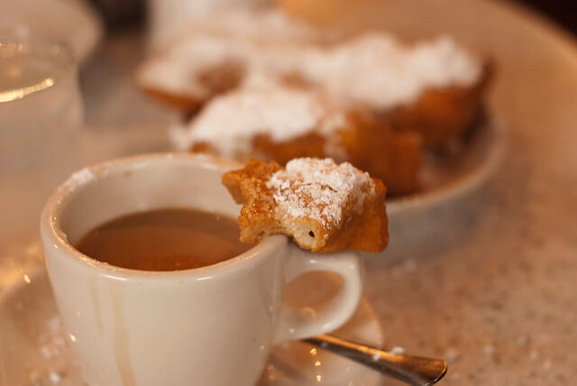 Coffee and Beignets...