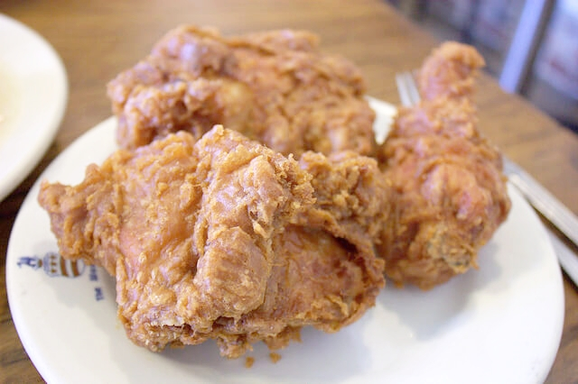 Chicken from Willie Mae's Scotch House, New Orleans