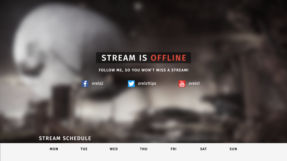 Destiny 2 Themed Stream Package Orels1
