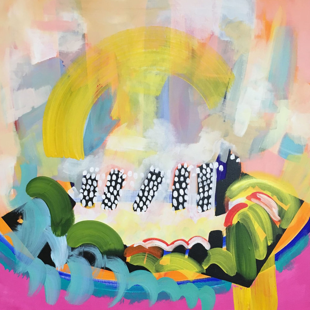 bold and happy uplifting art