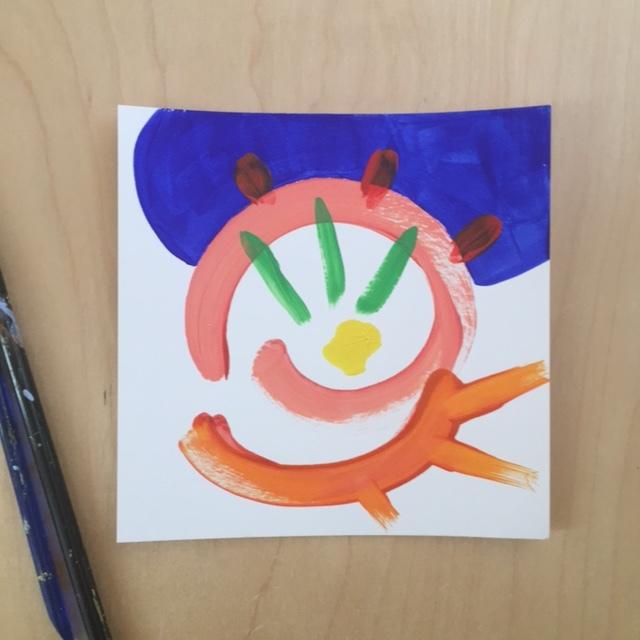 Happy Abstract Art