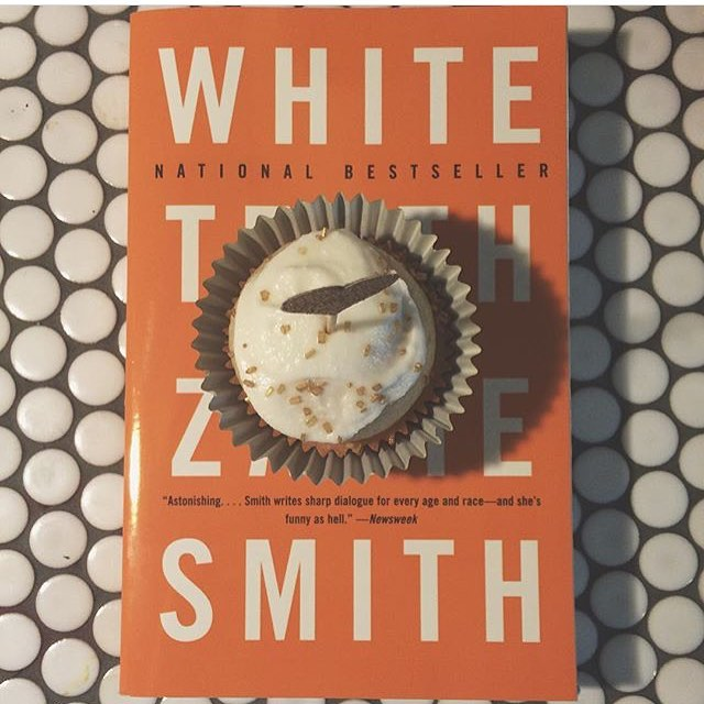 Last #NYE, it was #ZadieSmith, #WhiteTeeth and #champagnecupcakes! This year I'm working on something a bit more...old school! (Don't worry: champagne is still involved! 😉)