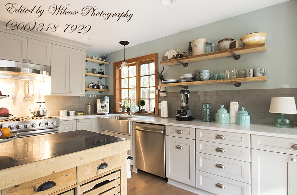Rayburn Residence Kitchen - Tatiana Hisel Interior Design