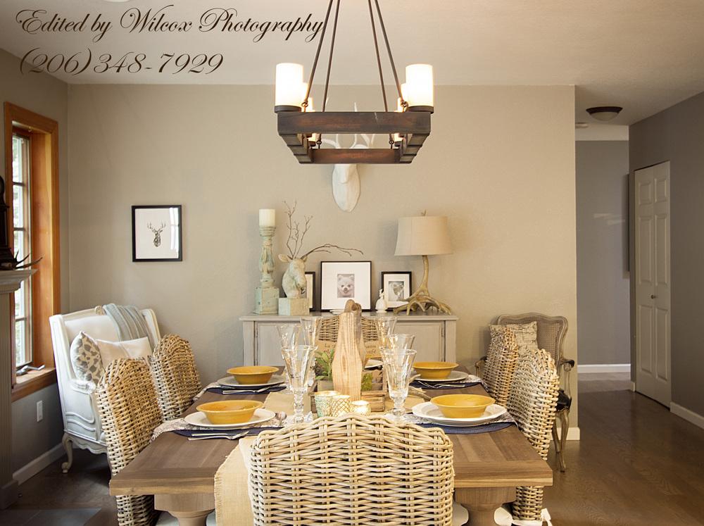 Rayburn Residence Dining Room - Tatiana Hisel Interior Design
