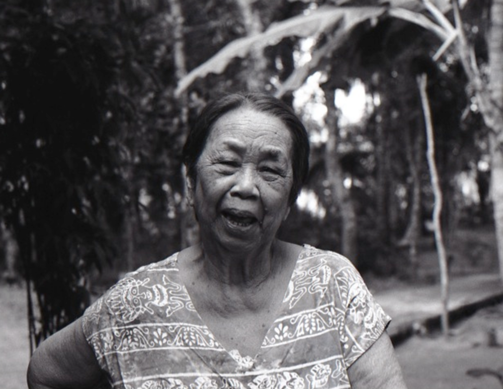 Joie de vivre, Lola Ana, Godofredo Reyes Sr, Ragay, Camarines Sur, Philippines. (16th March 2013) //  Mamiya ZE-2, Ilford Delta 100, Epson V330 // The ultimate purveyor of joy, my grandmother and her infectious laugh is an inspiration to keep focussed on life's priorities with joy as a base emotion and strength and integrity when life gives us challenges.
