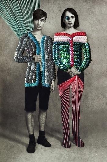 GLTZ, fashion communication inspired by Maurizio Anzeri