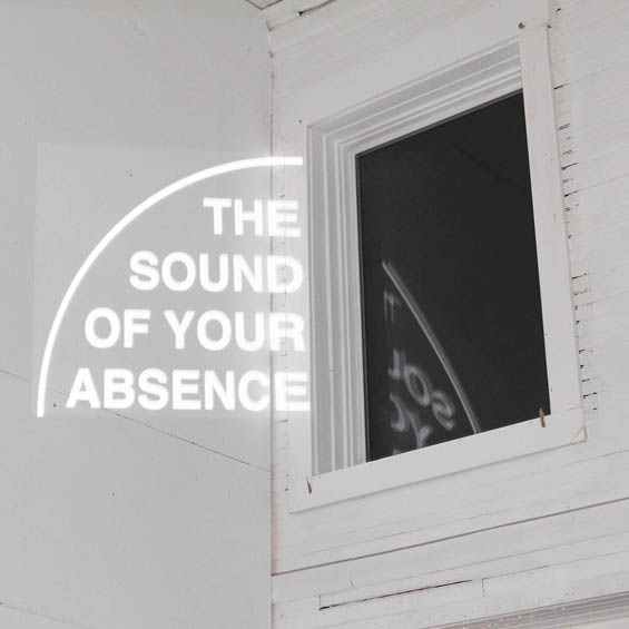 "In Residence ""The Sound of Your Absence"" projection - text art and text based art installation at Vermont Studio Center"