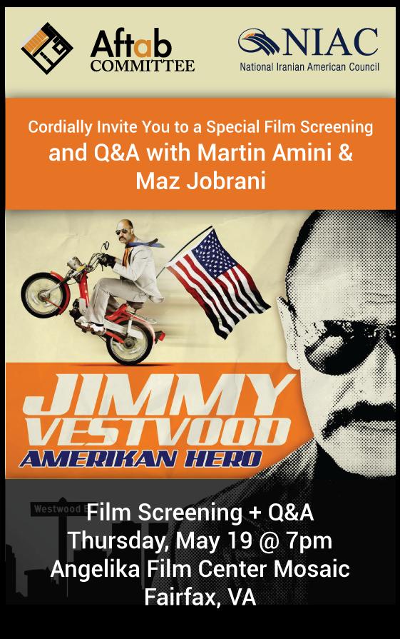Jimmy Vestvood Film Screening + Q & A
