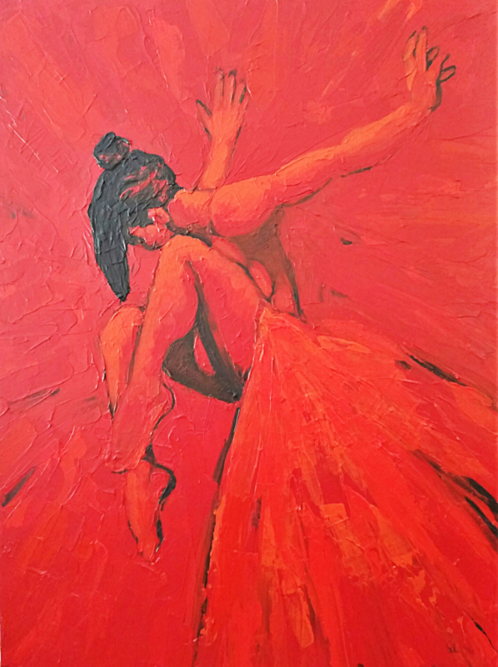 The Dancer - 36 x 48