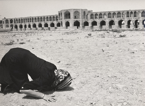 """First kiss after exile,"" from  Re-Collecting Iran (2002) Series"