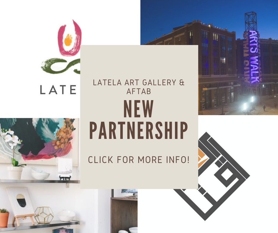 Latela Art Gallery & Aftab Partnership
