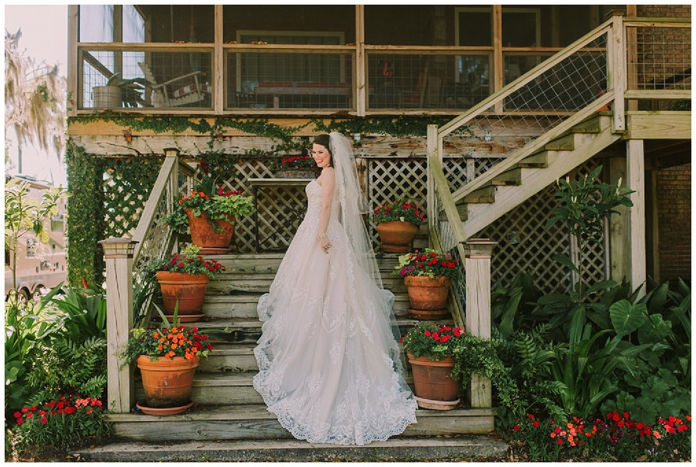 Airbnb Slidell Bridal Portrait