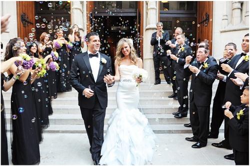 bubble exit louisiana wedding