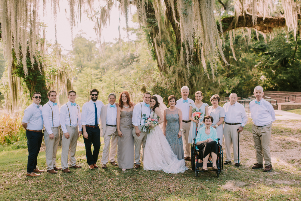 Family Portrait New Orleans Wedding