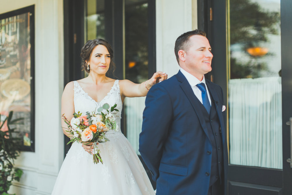 FIrst Look Baton Rouge Wedding