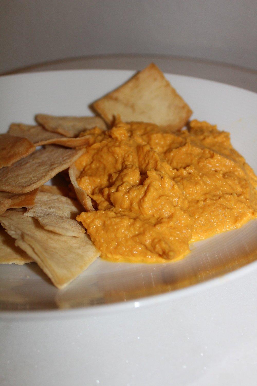 Halloween Pumpkin Hummus