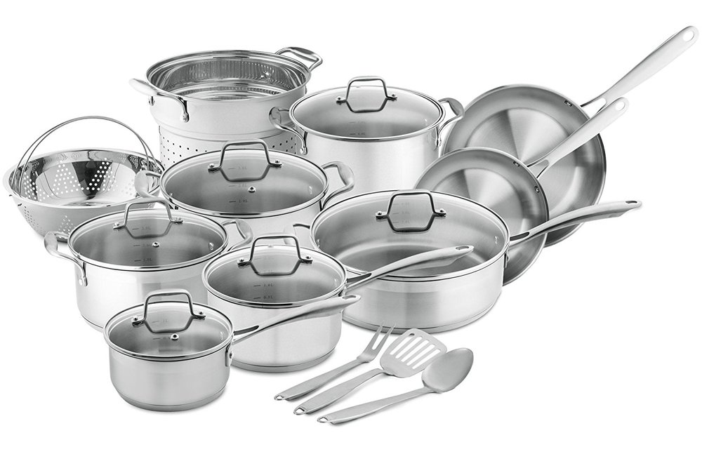 You're going to want all the pots and pans you could ever use--stock pot, dutch oven, sauce pan and soup pot. Instead of listing each separately, buy a set. You will definitely put them to use on big cooking days.   Amazon