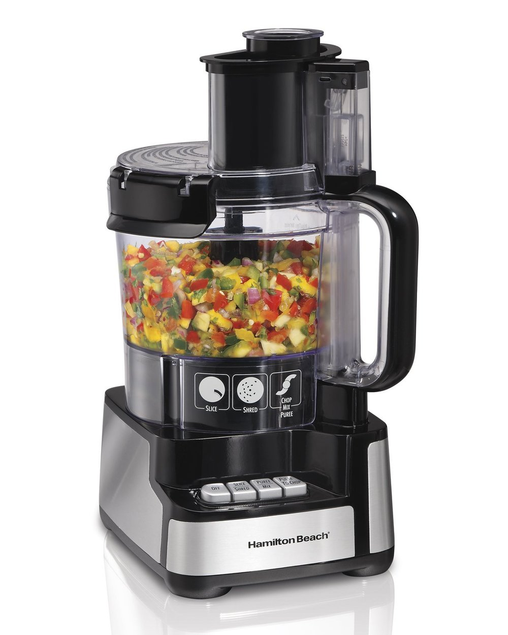 May sound boring but we use our food processor weekly--do not forego this neccessity.   Amazon