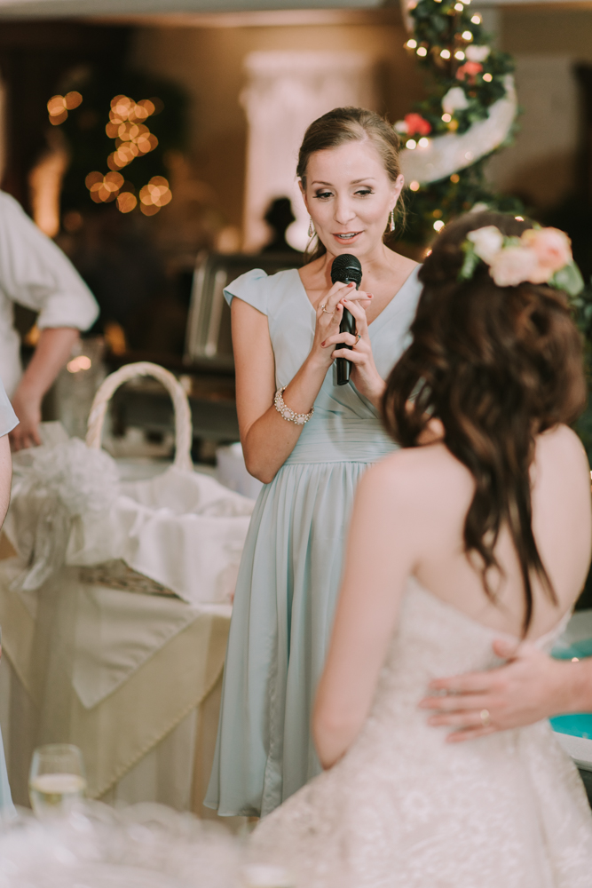 Maid of Honor Speech at New Orleans Wedding