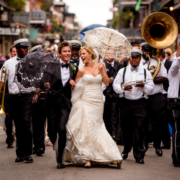 second line new orleans wedding