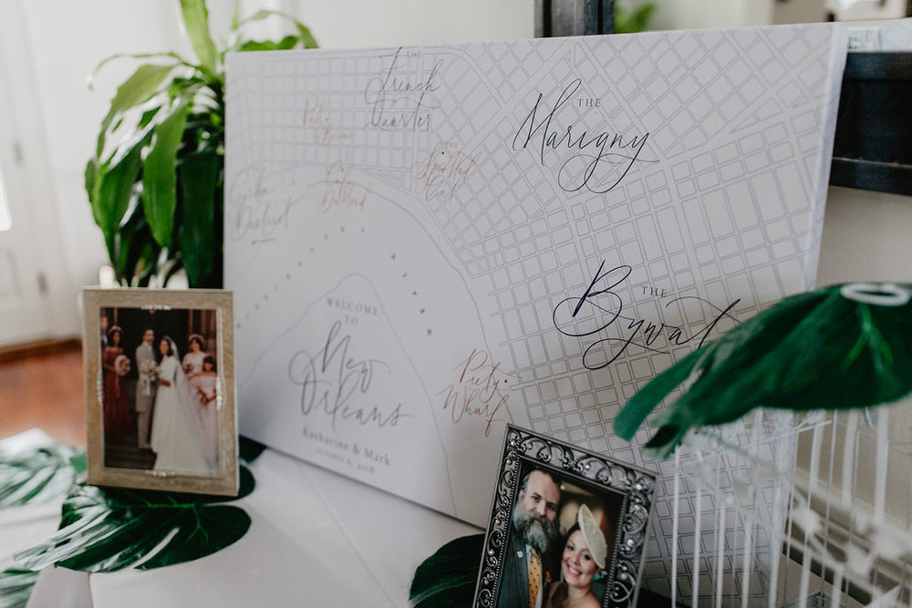 New Orleans Wedding Guest Book
