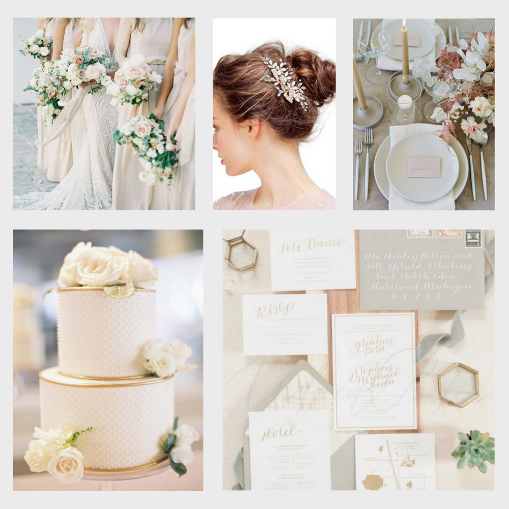 Spring Wedding Colors Inspiration