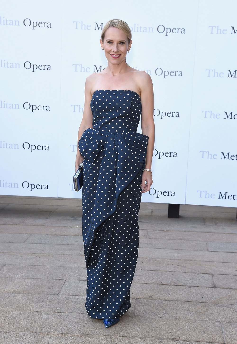 AMY RYAN in Vintage VICTOR COSTA from ALEANDRA NEW YORK - Metropolitan Opera Opening Night Gala, NYC, 2014