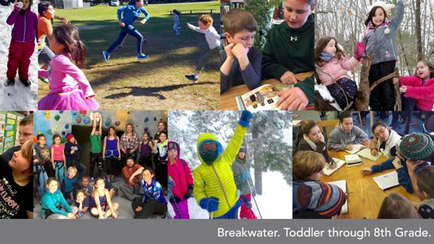 March 2017 - This month's Newsbreak includes: Enrollment & and New Breakwater Binders | Step Up Night | Up Level Update | Welcome | Enrichment | Save the Date