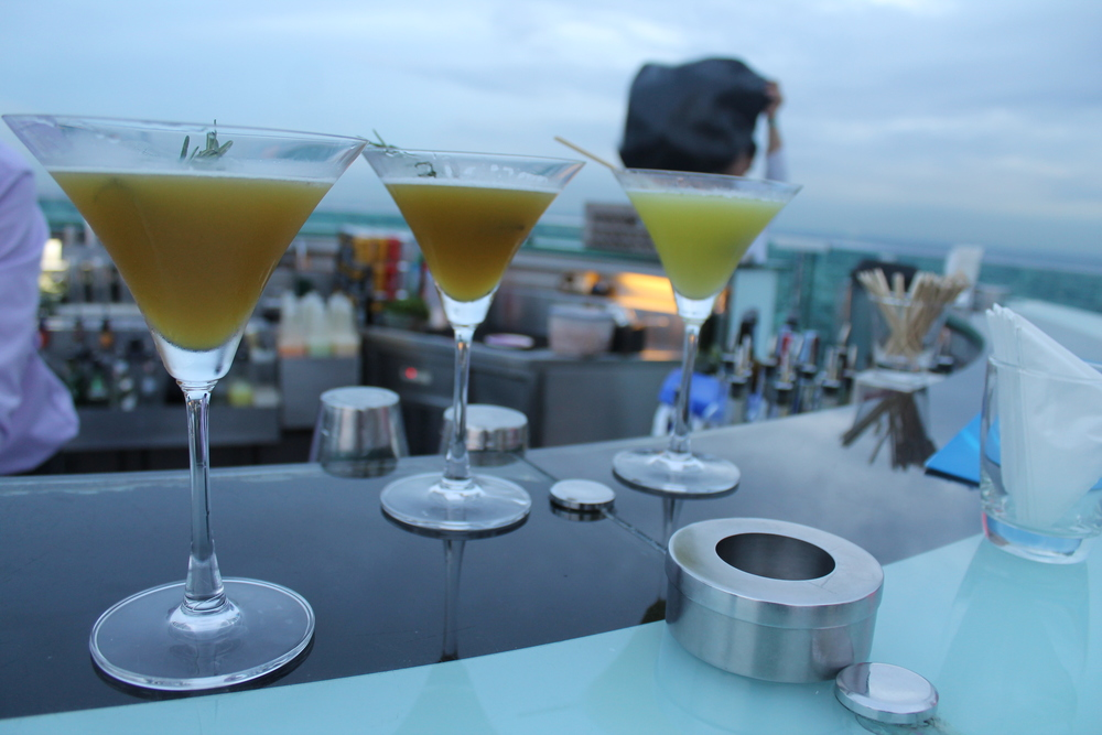 Cocktails at Sky Bar
