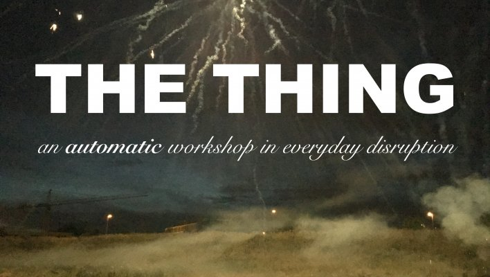 THE THING - ANT HAMPTON & CHRISTOPH MEIERHANS