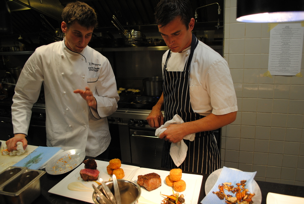 Chef Coombs and Chef Kovel in the Kitchen.JPG