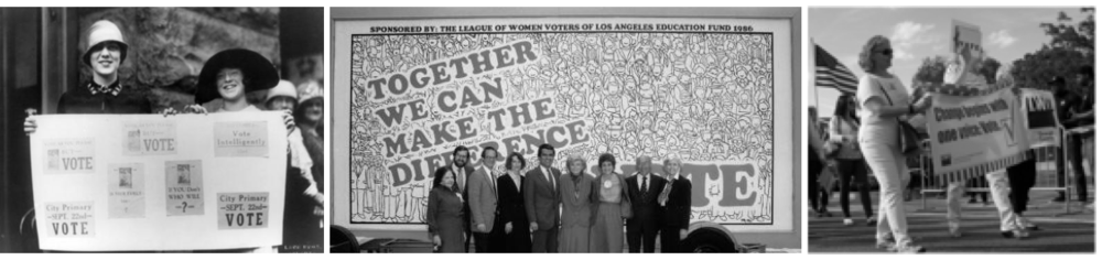 League of Women Voters: Then and Now