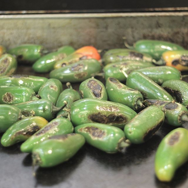 One Jalapeno contains 16 milligrams of vitamin C- that's 27% of your daily value!!! #charred