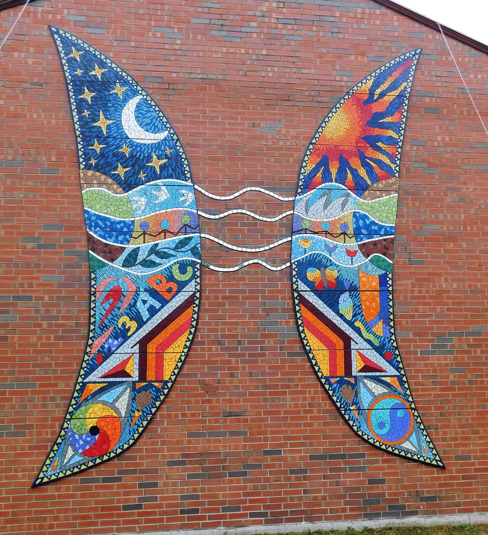 Mosaic Mural - WRITE DESCRIPTION HERE