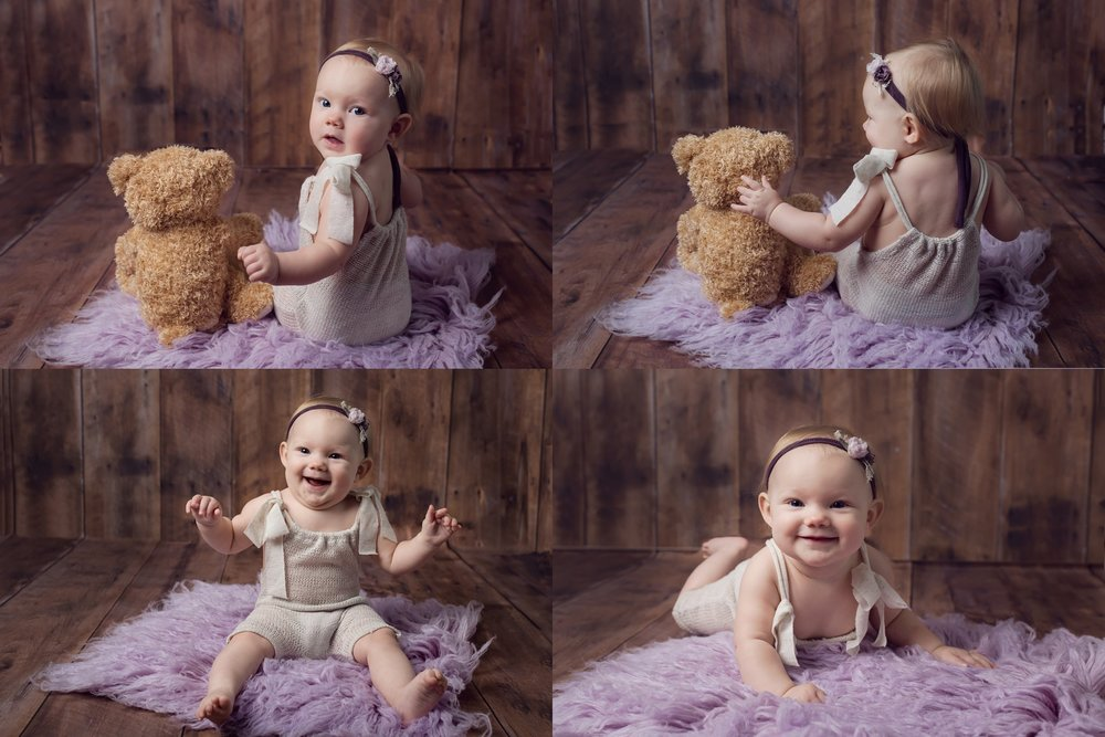 Raleigh Milestone Photographer 6 month old baby girl.jpg