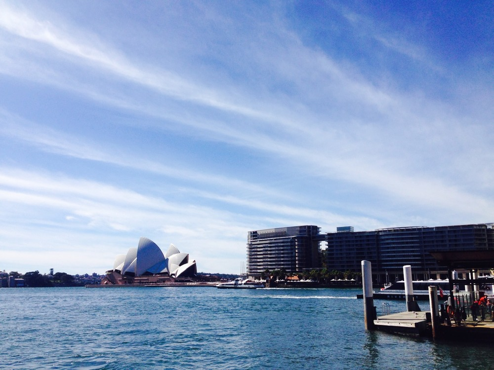 Sydney, you are always a dream.