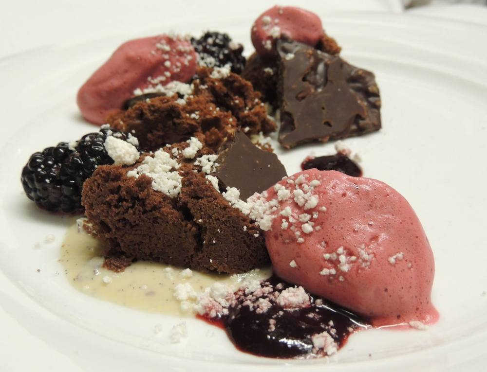 Blackberries & Chocolate | Cakebread Dinner '15